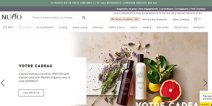 boutique en ligne vente produit beaute bio n