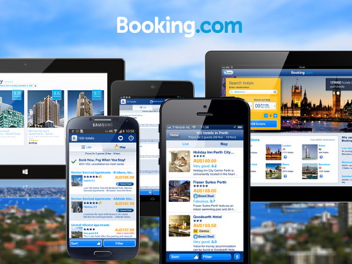 application mobile booking