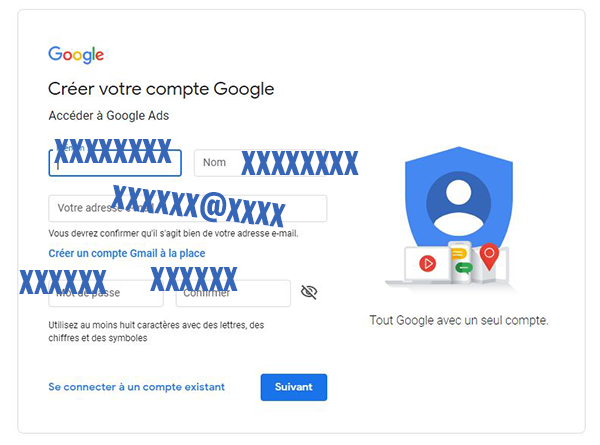 comment creer mon compte google ads?
