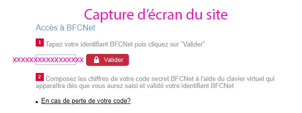 bfcnet bfcoi mon compte connexion