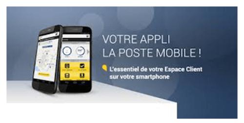 Se connecter à l'application mobile la banque postale