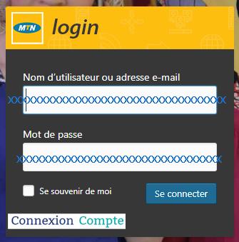 connexion compte mtn.cm