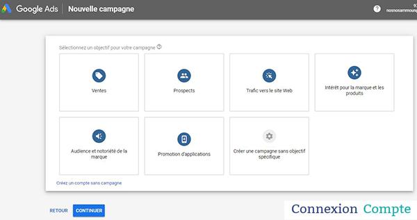 interface google ads