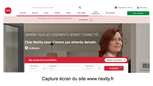 Consulter le site www.nexity.fr