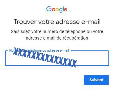 mot de passe google ads perdu