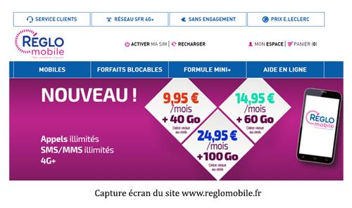 consulter le site reglomobile.fr
