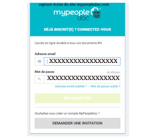 Activation compte mypeopledoc