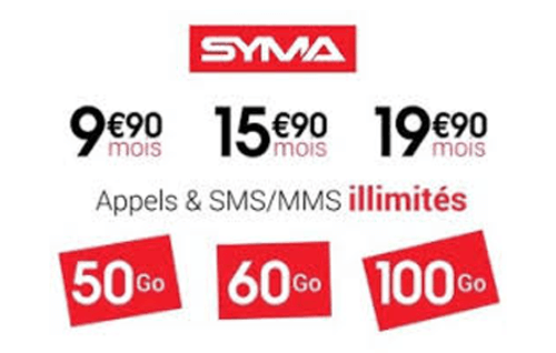 Syma mobile forfait et pass national