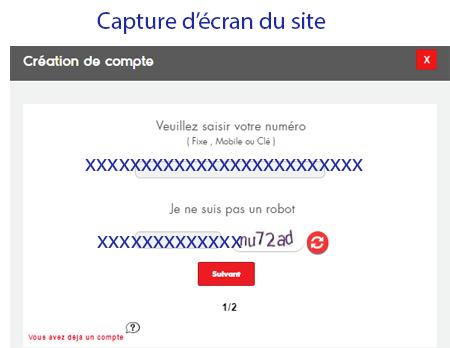 Créer mon compte Ooredoo Tunisie