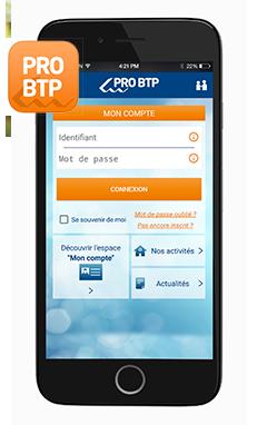 application mobile pro btp