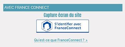 connexion espace assure via France connect