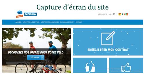 Consulter le site www.assurances.decathlon.fr
