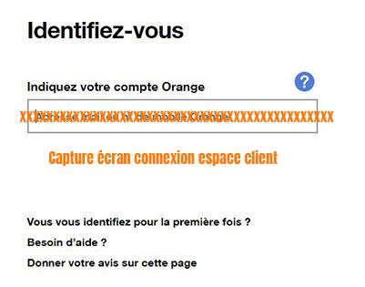 connexion compte orange mobile