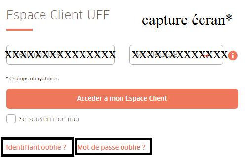 connexion uff espace client