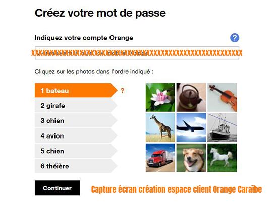 comment créer mon espace client orange mobile?
