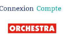 Orchestra connexion à mon compte en ligne