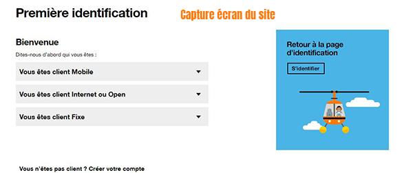 premiere connexion espace client orange caraibe
