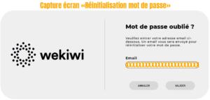 probleme connexion espace client wekiwi