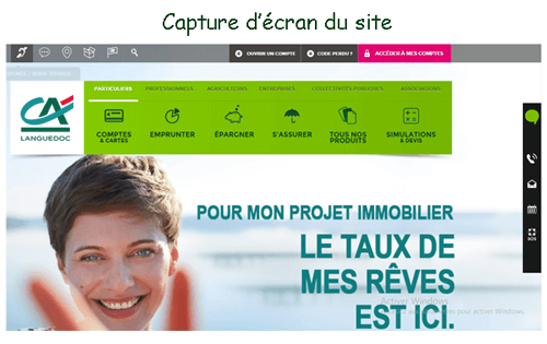 Consulter le site www.ca-languedoc.fr