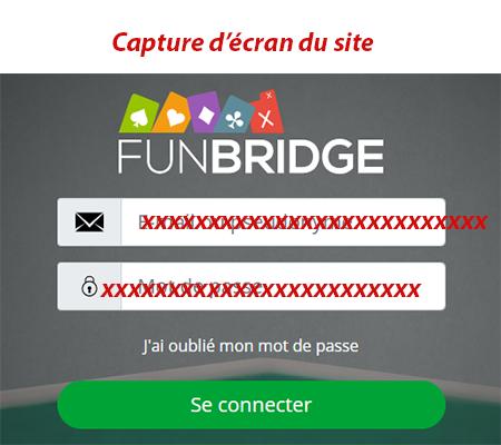 Se connecter à Résultats de recherche Résultats Web mon Compte Funbridge
