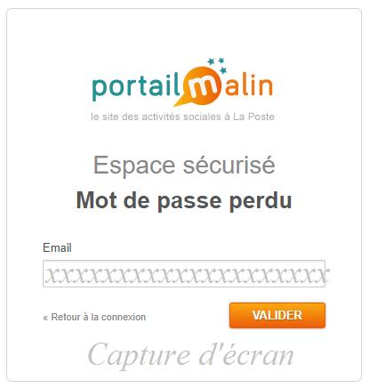 connexion compte eas.portail-malin.com