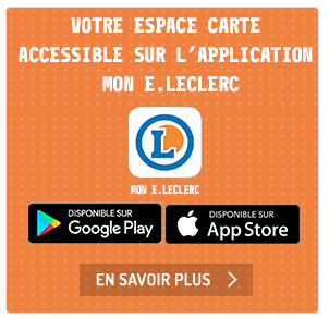 application mobile E.Leclerc