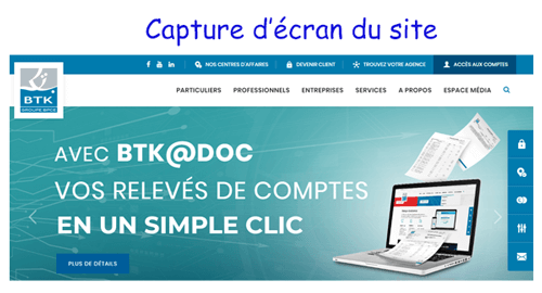 Accéder à btknet.com