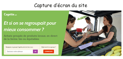 Consulter le site cagette.net