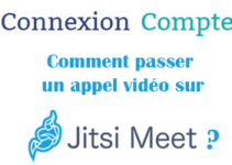 Appel video jitsi meet