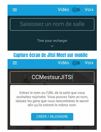 application mobile jitsi meet avis