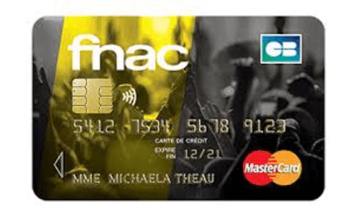 Demande carte fnac mastercard
