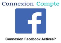 Facebook connexion et sessions actives inconnues