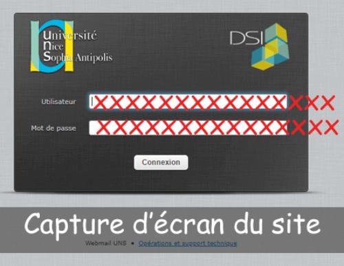 Accéder à webmail.unice.fr