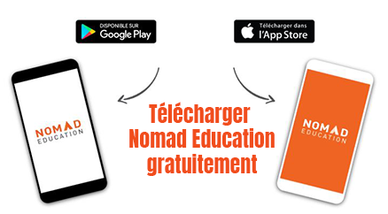 application nomad education gratuit