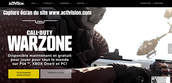 activision call of duty warzone