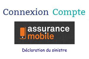 Déclarer sinistre sur www.assurance-mobile.fr