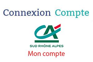Consulter mes comptes CA Sud Rhône Alpes