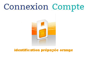 Identification prepayee orange formulaire