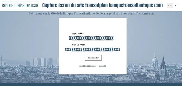 transplan stockplan mon compte