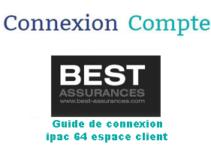 Best Assurances ipac 64 mon compteBest Assurances ipac 64 mon compte
