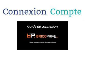 Bricoprive.com connexion