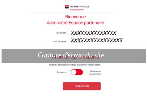 Accéder franfinance-online.com