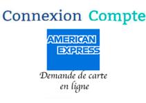 Suivi demande carte american express