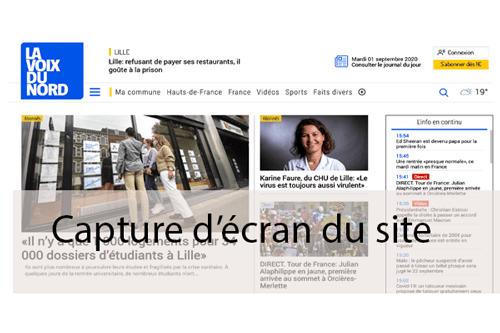 Se rendre sur le site lavoixdunord.fr