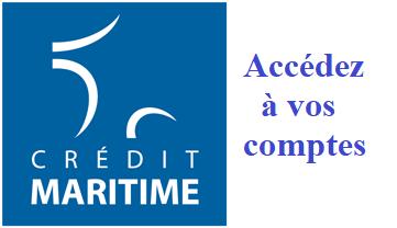 crédit maritime accès à mes comptes