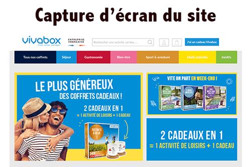 Accéder à www.vivabox.fr mon compte