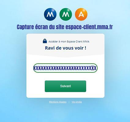connexion compte mma