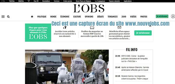 magazine actualite francais