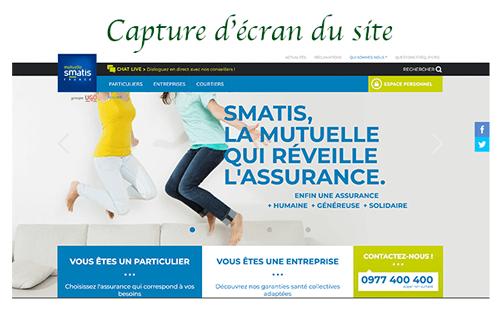 Accès sur www.smatis.fr