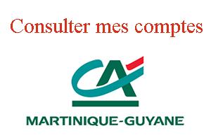 www.ca-martinique.fr consultation compte